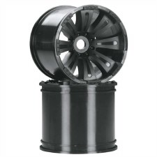 Axial 8-Spoke 40 Series Oversize Wheel - Black (2)