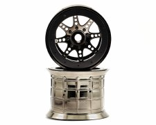 Axial 40 Series Overside Beadlock Wheel - Chrome & Black (2)