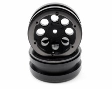 Axial 8-Hole 1.9 Beadlock Wheels - Black (2)