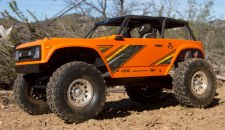 Axial Wraith 1/10 Rock Crawler Ready to Run (Orange)