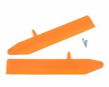 Blade Nano CPX Fast Flight Main Rotor Blade Set (Orange)
