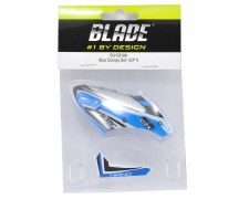 Blade Nano CPX Complete Canopy with Vertical Fin (Blue)