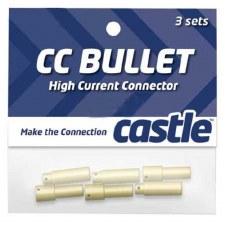 Castle Creations 4mm High Current CC Bullet Connector Set