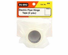 Dubro Electric Flyer Hinge Tape
