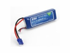 Eflite 11.1V 1800mah 30C 3S Lipo Battery with EC3 Connector