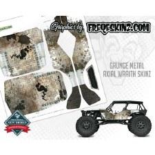 FreqeSkinz Grunge Metal Design - Axial Wraith