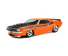 HPI 1970 Dodge Challenger Body 200mm (Clear)