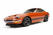 HPI Datsun 240Z 1/10 Scale Body (225mmWB) (Clear)