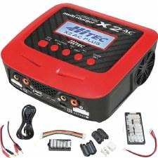 Hitech X2 AC Plus- AC/DC Dual Battery Charger