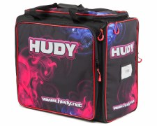 Hudy Exclusive Edition Carrying Bay with Tool Compartment - 1/10 Touring Cars