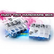 Hudy Tiny Hardware Box -  8 Compartments