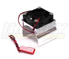 BL Motor Htsnk/ Fan, 540, Slvr