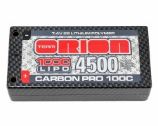 Orion Carbon Pro 7.4V 4500mah 2S 100C Ultra Shorty Lipo Battery