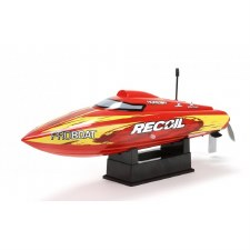 ProBoat Recoil 17 Deep-V Ready to Run Brushless Boat (Red)