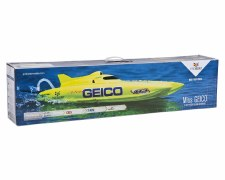"ProBoat Miss Geico 17"" Ready to Run Brushed Catamaran Boat (Yellow)"