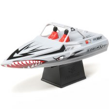 "ProBoat Sprinjet 9"" Self-Righting Ready to Run Electric Jet Boat (Silver)"