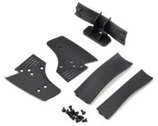 Protoform 1/10 F1 Rear Wing (Black)