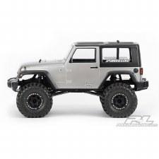 ProLine 2009 Jeep Wrangler 1/10 Rock Crawler Body (Clear)