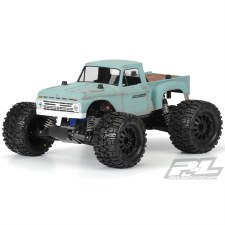 ProLine 1966 Ford F100 Pick Up Monster Truck Body (Clear)