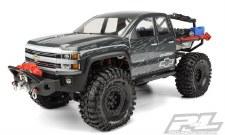 Silverado Clear Body :SCX10 Tr