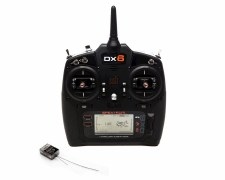 Spektrum DX6 G3 6-Channel DSMX Transmitter with AR6600T Receiver (Mode 2)