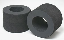 Tamiya F1 Rear HBR Soft Foam Tires (2)