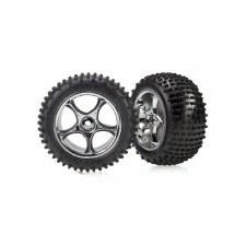 Traxxas Bandit Rear Alias 2.2 Tires & Wheels (2) (Standard)