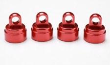 Alum Shock Caps,Red (4):SLH