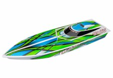 "Traxxas Blast 24"" Ready to Run Brushed Boat (Green)"