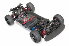 Traxxas 4-Tec 2.0 1/10 Brushed Ready to Run Touring Car Chassis (NO Body)