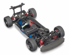 Traxxas 4-Tec 2.0 VXL 1/10 Brushless Ready to Run Touring Car Chassis (NO Body)