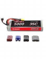 "Venom 11.1V 5000mah 3S 35C ""Hard Case"" Lipo Battery with Universal Connector"