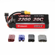 Venom 11.1V 2200mah 3S 20C Lipo Battery with Universal Connector
