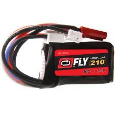 """Venom """"Fly"""" 7.4V 210mah 2S 30C Lipo Battery"""