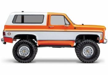 Traxxas TRX-4 1/10 Trail Crawler Truck w/ 79' Chevrolet K5 Blazer Body (Orange)