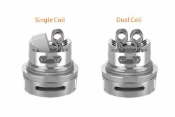 Ammit Dual Coil Rta Stainless