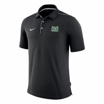 Nike Team Issue Black Polo- S
