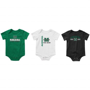Runt 3-Pack Onesie Set- 3/6M