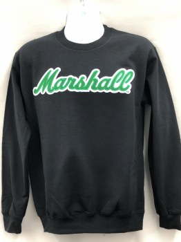 Marshall Crewneck Black- XL