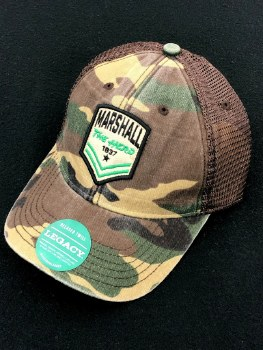 Marshall Patch Camo Trucker Hat