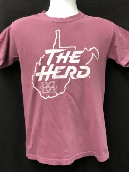 Coastal The Herd Tee Berry- XL