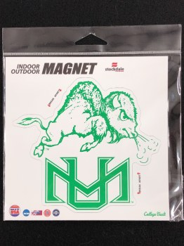 Young Thundering Herd Buffalo- Vault 6 x 6 Magnet