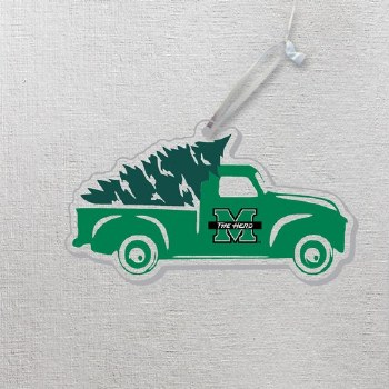 M/The Herd Truck with Tree Ornament