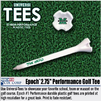 Marshall Golf Tee Pack