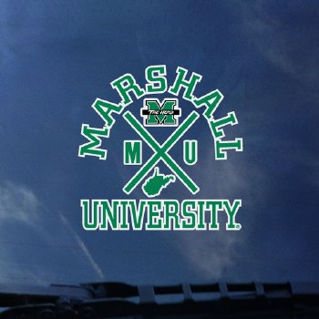 Marshall University Logo Decal