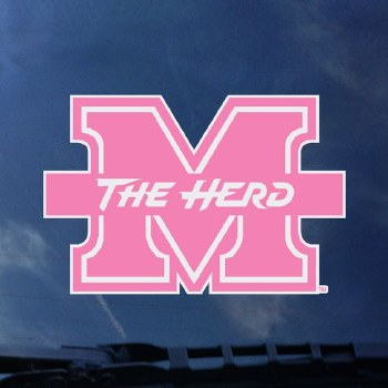 Pink M/The Herd Decal