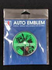 Boba Fett Auto Emblem