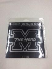 M/The Herd Metallic Decal-Med