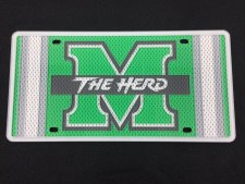 M/The Herd Jersey License Plate