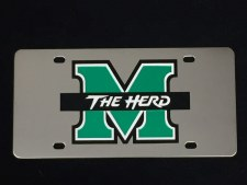 M/The Herd Stainless Steel License Plate